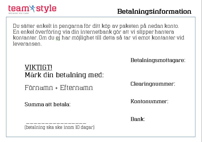 Betalningsinformation MALL (Word)